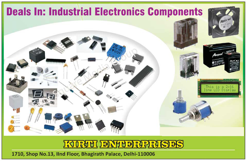 Industrial Electronic Components
