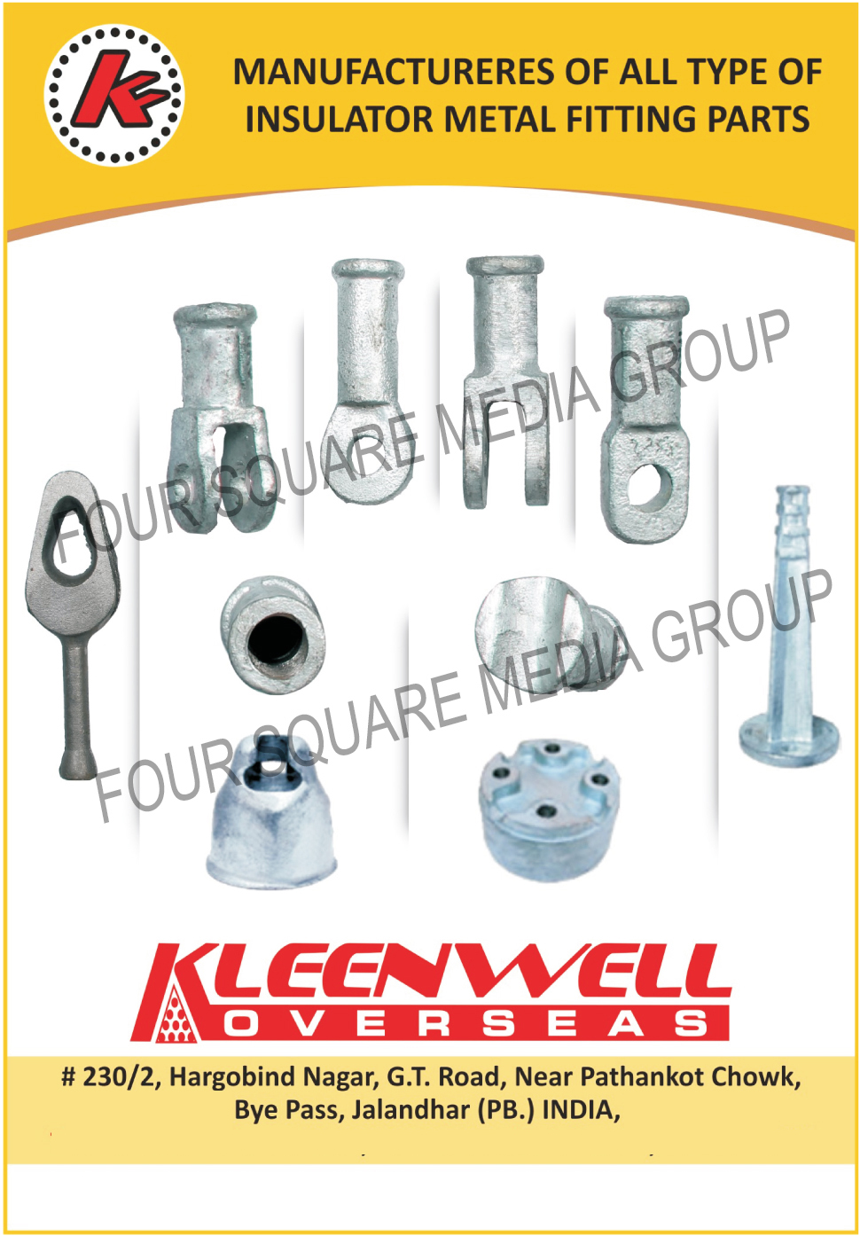 Insulator Metal Fitting Parts