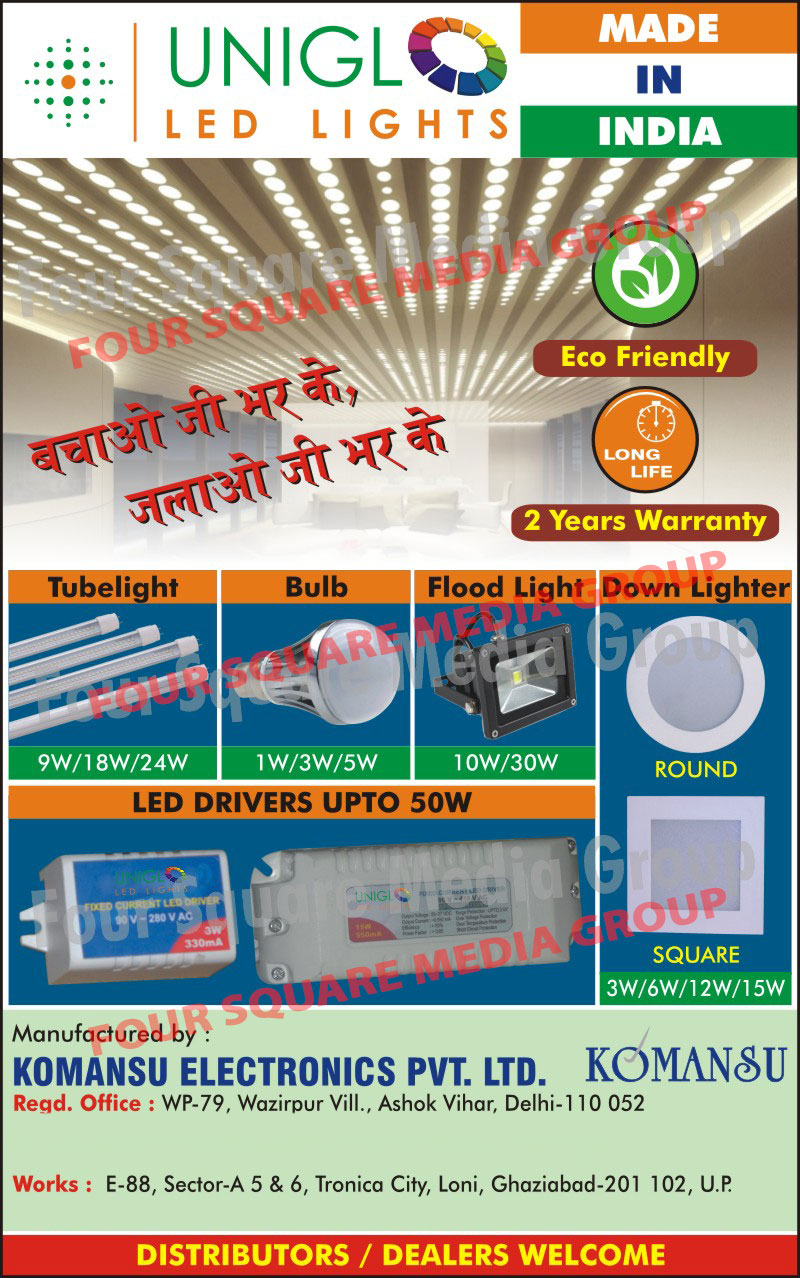 Led Drivers, Led Lights, Led Tube Lights, Led Bulbs, Led Down Lighters, Led Down Lights, Round Led Down Lighters, Square Led Down Lighters, Led Flood Lights,Tubelights, Led Bulbs, Down Lighters, Down Lights, Flood Lights