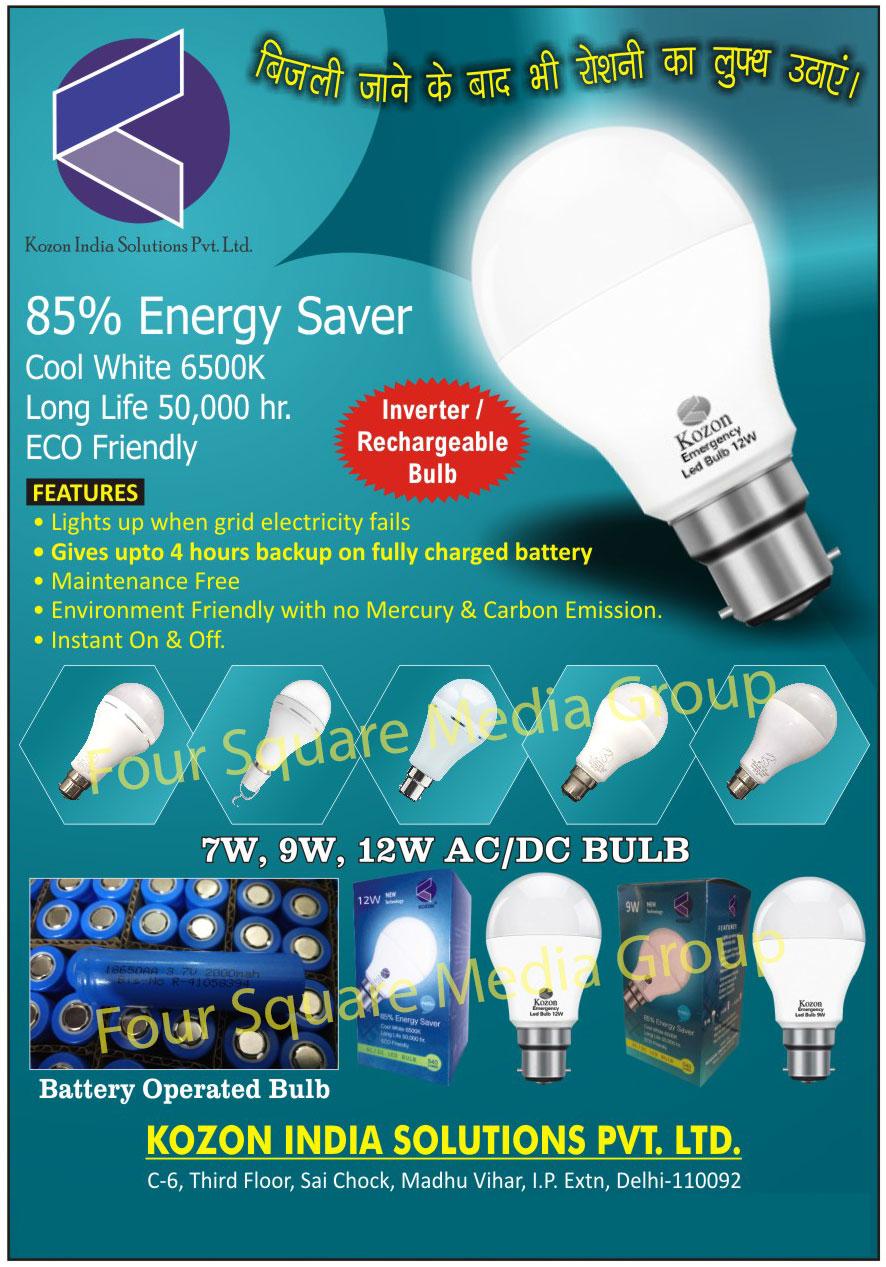 AC DC Bulbs, AC Bulbs, DC Bulbs, Battery Operated Bulbs