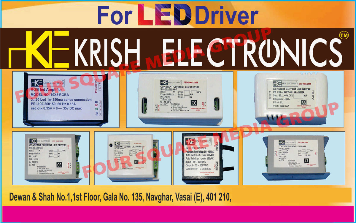 Led Drivers, Led Lights