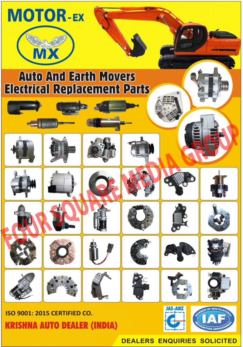 Earthmoving Automotive Electrical Parts, Automotive Electrical Components, Earthmoving Electrical Components, Earth Moving Electrical Components,Automotive Electrical Parts, Automotive Brake Lights, Automotive Fuse Holder, Automotive Halogen Bulb, Automotive Harness, Automotive Ignition Module, Automotive Ignition Parts, Automotive Lamp Parts, Automotive LED Lamp, Automotive Lighting Harness, Automotive Lighting Parts,Automotive Miniature Lamp, Automotive Starter Parts, Automotive Electronic Parts, Earhmover Electrical Components, Automotive Electrical Components, Automotive Electrical Replacement Parts, Earth Mover Electrical Replacement Parts, Alternator, Starter Motor, Starter Armature, Rocker Holder, Brush Holder, Alternator Rectifier, Alternator Regulator, Starter Solenoid Switches, Alternator Rotor, Alternator Stator, Starter Field Coil, Engine Stop Solenoid, Starter Drive