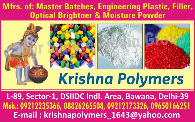 Masterbatches, Engineering Plastics, Plastic Fillers, Optical Brighteners, Moisture Powders
