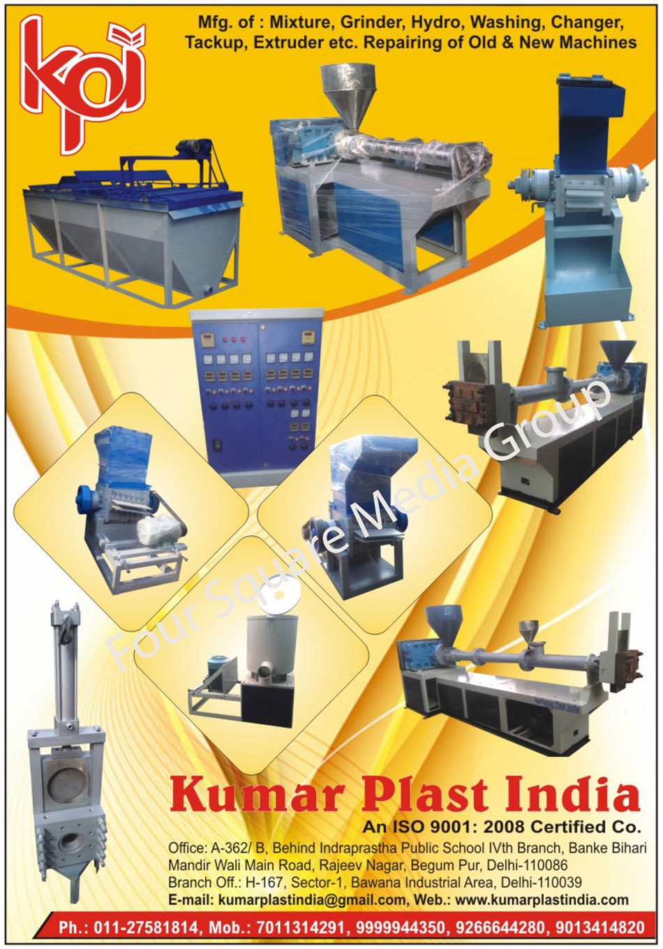 Plastic Industry Washing Machines, Take Up Machines, SS Cooling Mixture Machines, Plastic Industry Cylinders, Plastic Industry Hydraulic Tank, Plastic Extruders, Plastic Industry Flame Dryers, Extruders, Grinders, Hydro Washing, Mixture, Industrial Conveyor, Extruder Machine, Hydraulic Changer, Pipe Plant, Vacuum Tank, Hydraulic Tank, Washing Plant, Mixture Machine, Extruder Machine, Industrial Cylinders, Digital Panels, Aglo Machine, Hydraulic Power Pack, Industrial Flame Dry, Hydro Machines