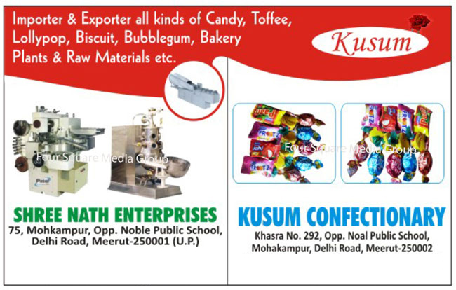 Candy, Toffee, Lollipop, Peda, Confectionary Products