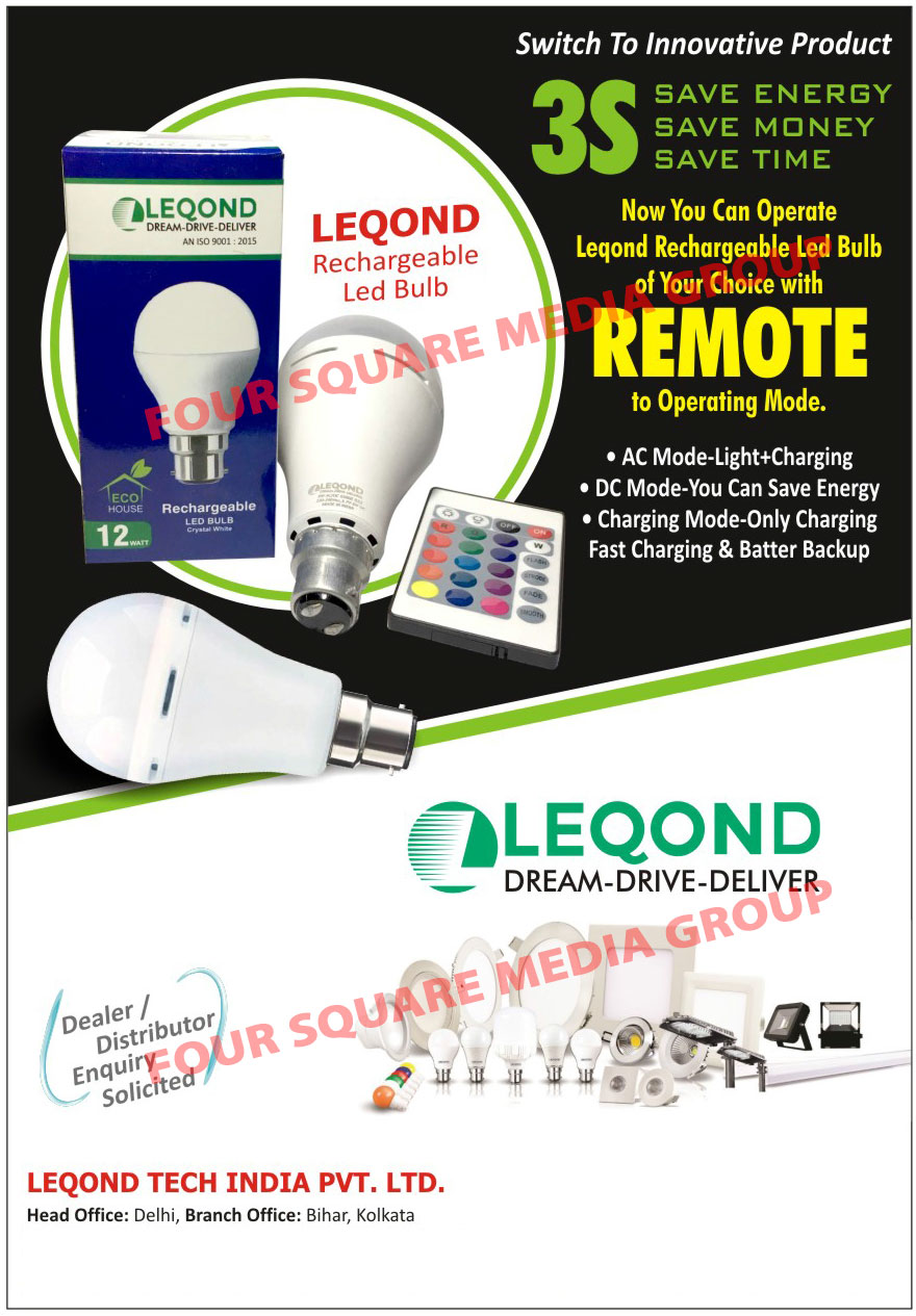 Rechargeable Led Bulbs