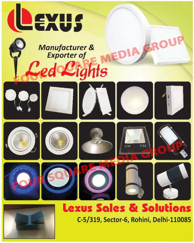 Led Lights, Led Tube Lights, Led Flood Lights, Led Panel Lights, Led Panels, COB Lights