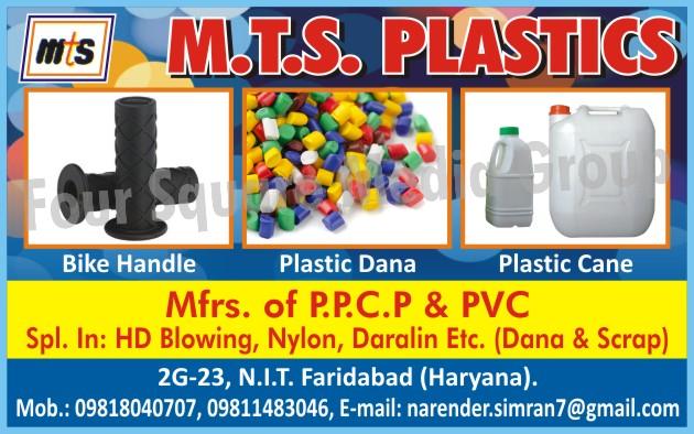 Plastic Granules, Plastic Cane, Bike Handle Griper Granules, PPCP Plastic Granules, PVC Plastic Granules