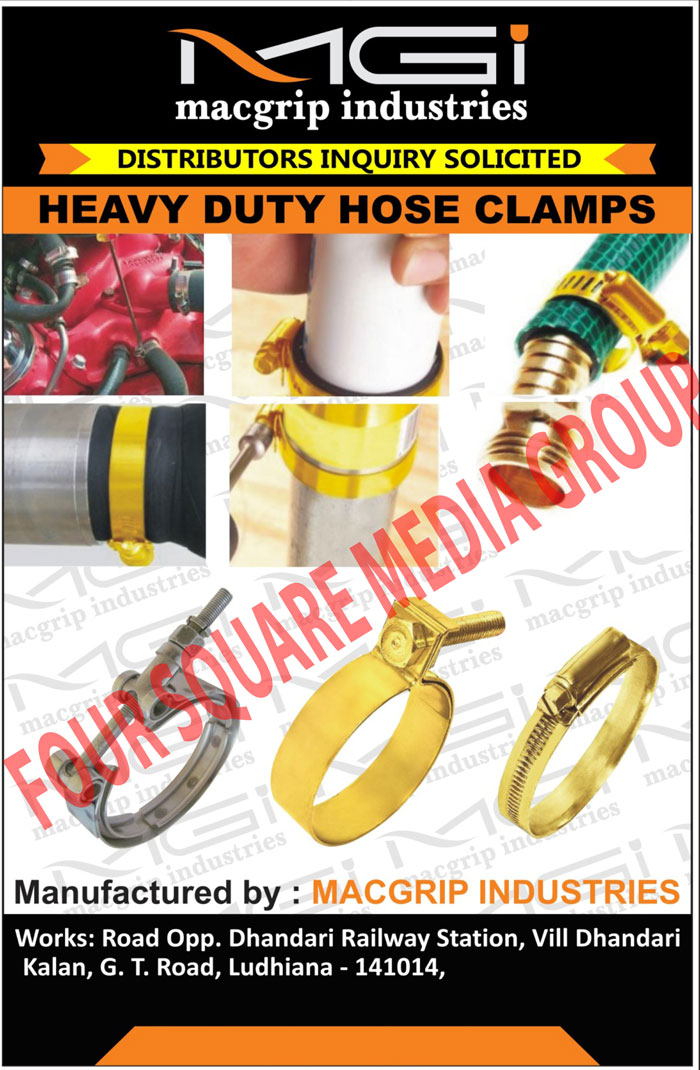 Heavy Duty Hose Clamps