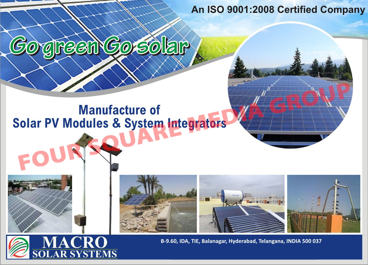 Solar PV Modules, Solar System Integrators,