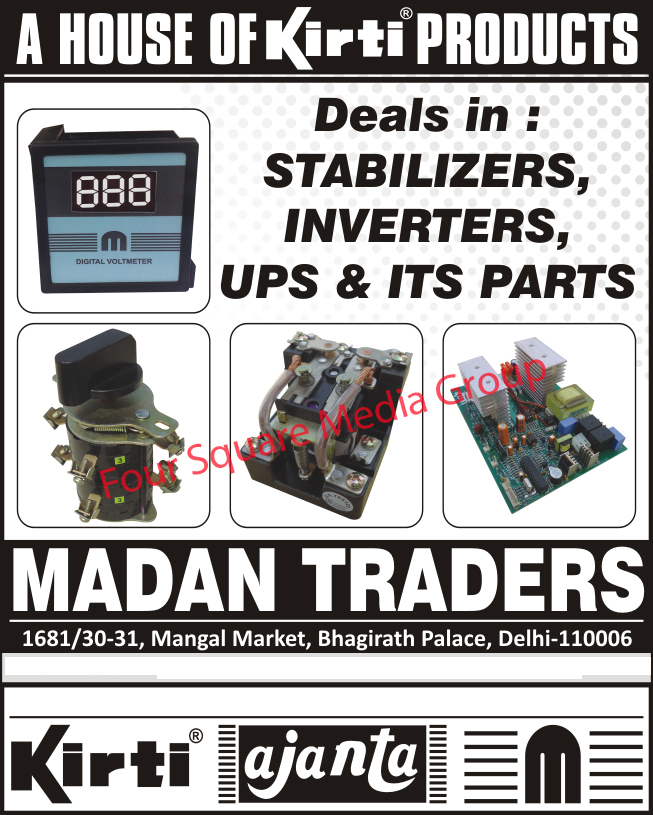 Stabilizers, Stabilizer Parts, Inverters, Inverter Parts, UPS, Ups Parts,