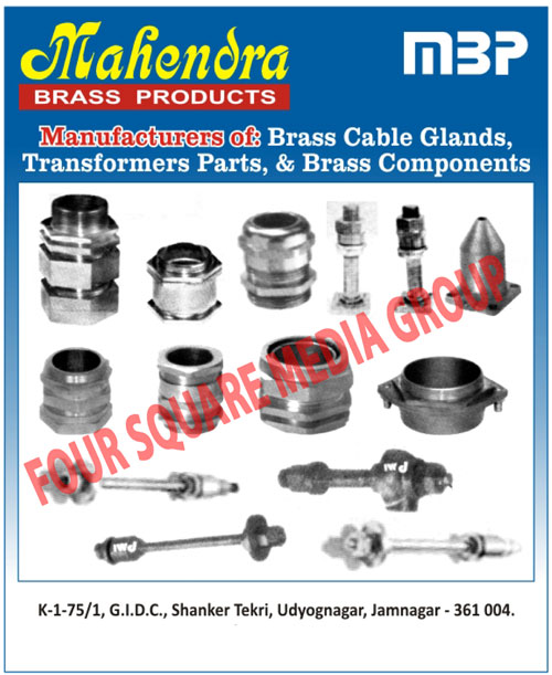 Brass Cable Glands, Brass Components,Brass Transformer Parts