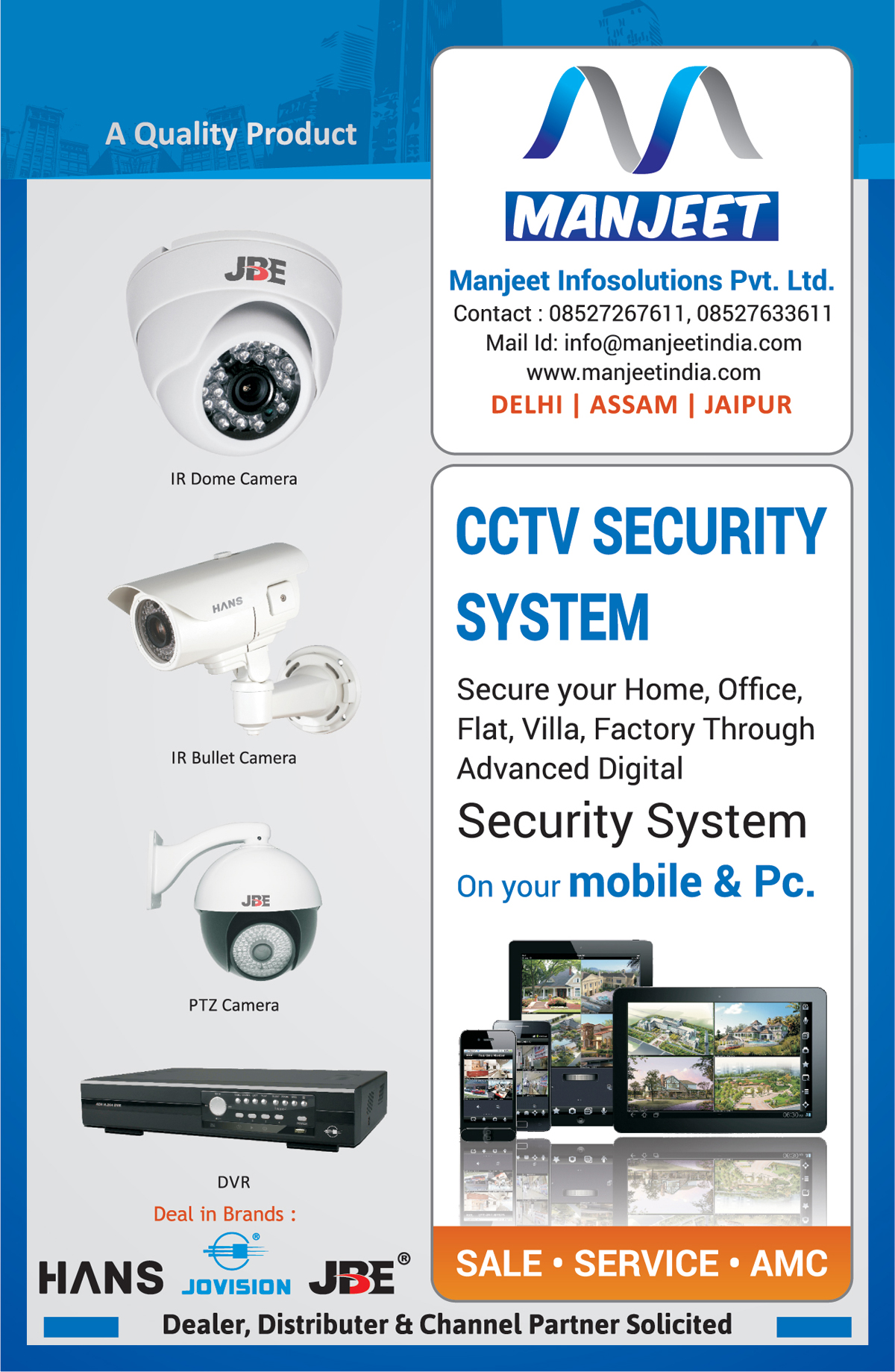 CCTV Camera, Digital Video Recorder System, DVR System,