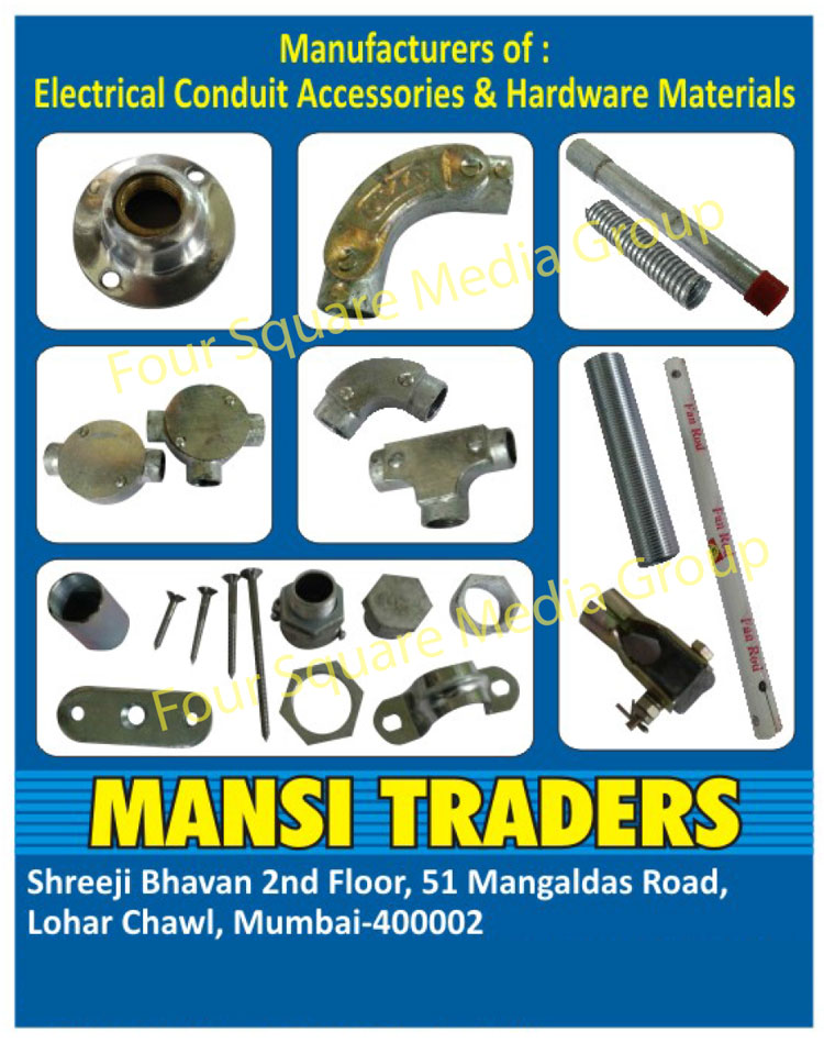 Electrical Pipes, Electrical Pipe Fitting Accessories, Electrical Pipe Fitting Accessory, Hardware Products, Checknuts, Spacers, Sockets, Deep Junction Boxes, Barsaddel, F Couplings, Junction Boxes, Bends, Ball Sockets, Pipes, Flexible Pipes, Electrical Conduit Accessories, Hardware Materials
