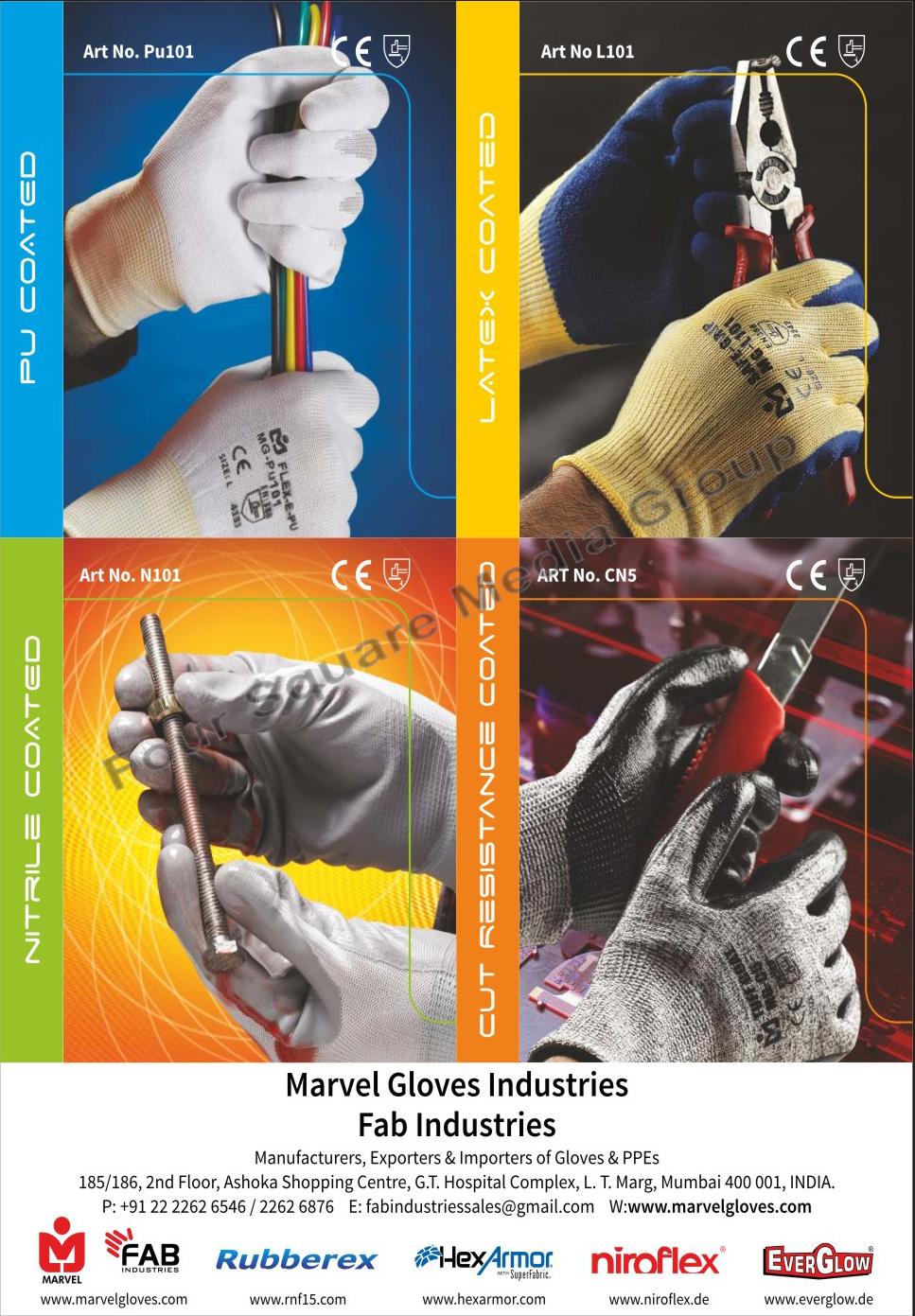 Gloves, PPEs
