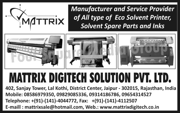 Eco Solvent Printers, Solvent Printer Spare Parts, Solvent Inks,Solvent Spare Parts