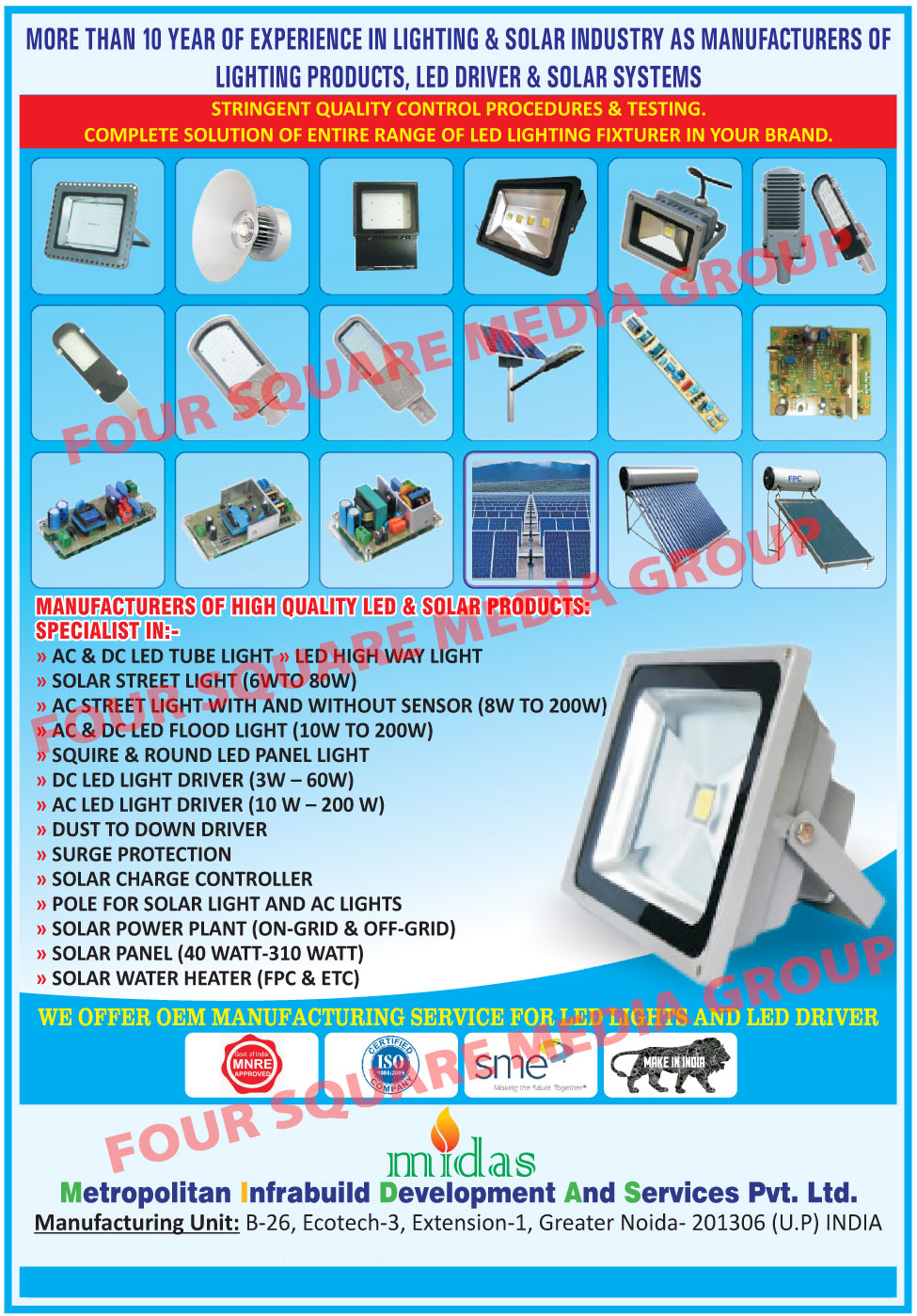 Led Lights, AC Led Tube Lights, DC Led Tube Lights, Led High Way Lights, Solar Street Lights, AC Street Lights, AC Led Flood Lights, DC Led Flood Lights, Led Panel Lights, Square Led Panel Lights, Round Led Panel Lights, DC Led Light Drivers, AC Led Light Drivers, Dust To Down Drivers, Solar Charge Controllers, Solar Light Poles, AC Light Poles, Solar Power Plant, Solar Panels, Solar Water Heaters, AC Led Light Surge Protection, Led Drivers, Led Light Fixtures, Solar Products
