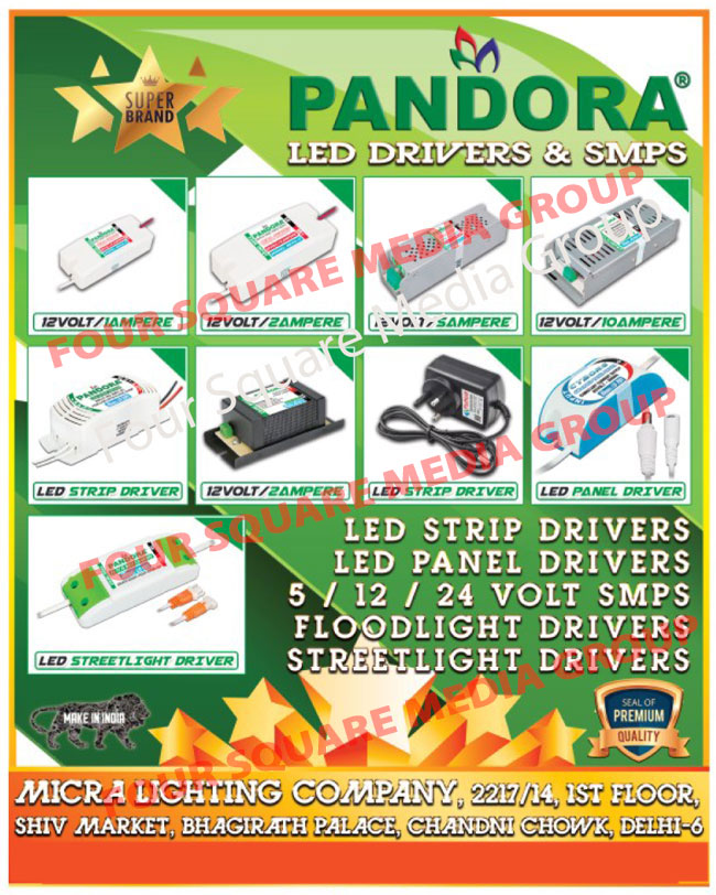 Led Drivers, SMPS, Led Strip Drivers, Led Panel Drivers, Led Street Light Drivers