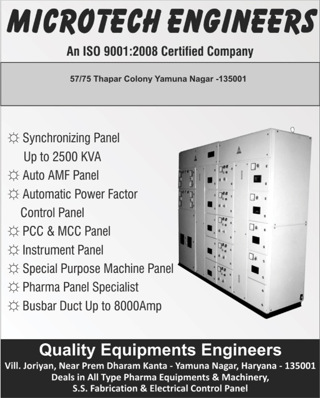 Synchronizing Panels, Auto AMF Panels, Automatic Power Factor Control Panels, PCC Panels, MCC Panels, Instrument Panels, Special Purpose Machine Panels, Busbar Ducts, Pharma Panels,Electrical Products, Electrical Control Panel, Electrical Panels, Electrical Control Panels, Synchronizing Panel, Auto AMF Panel