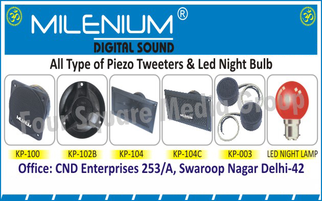 Piezo Tweeters, Led Night Bulb,