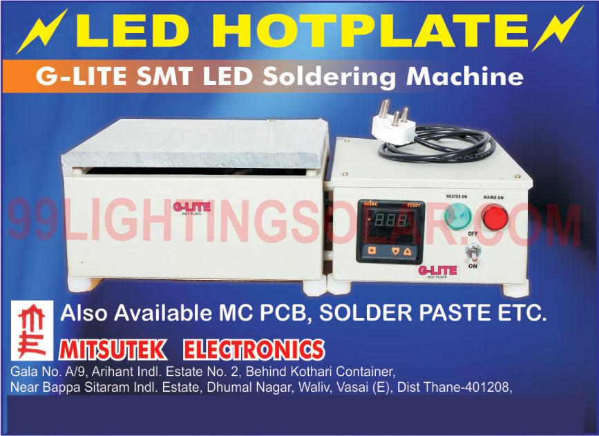 Led Hotplate, MCPCB, Solder Paste, G Lite SMT Led Soldering Machine, LED Products Assembly, LED Products Pasting, Soldering Machine