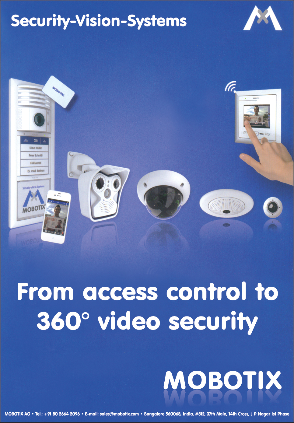 CCTV Cameras, Weatherproof Cameras, Indoor Cameras, Thermographic Cameras, Home Automation system, Video Door Station,Security Vision Systems