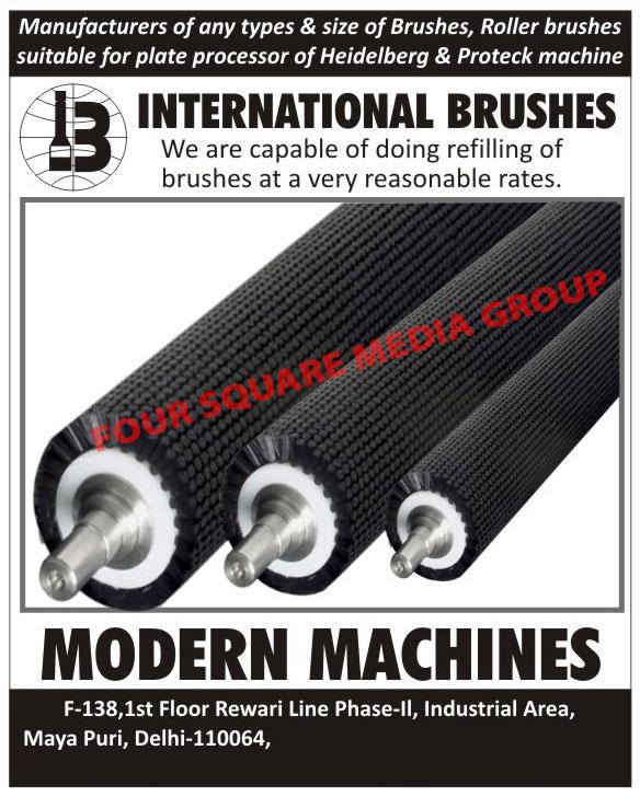 Roller Brushes Refilling, Roller Brushes