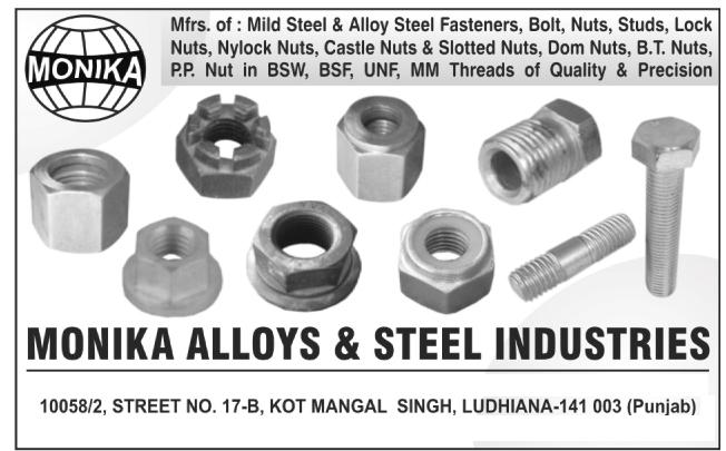 Mild Steel   Alloy Steel Fasteners   Bolt   Nuts   Studs