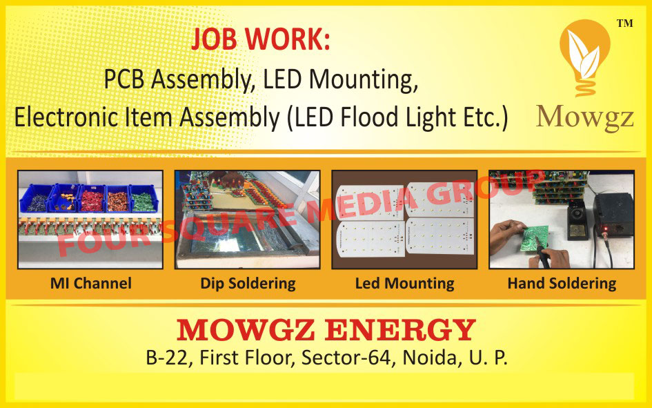 PCB Assembly Job Work, Led Mounting Job Work, Electronic Item Assembly Job Work, Led Flood Light Assembly Job Work