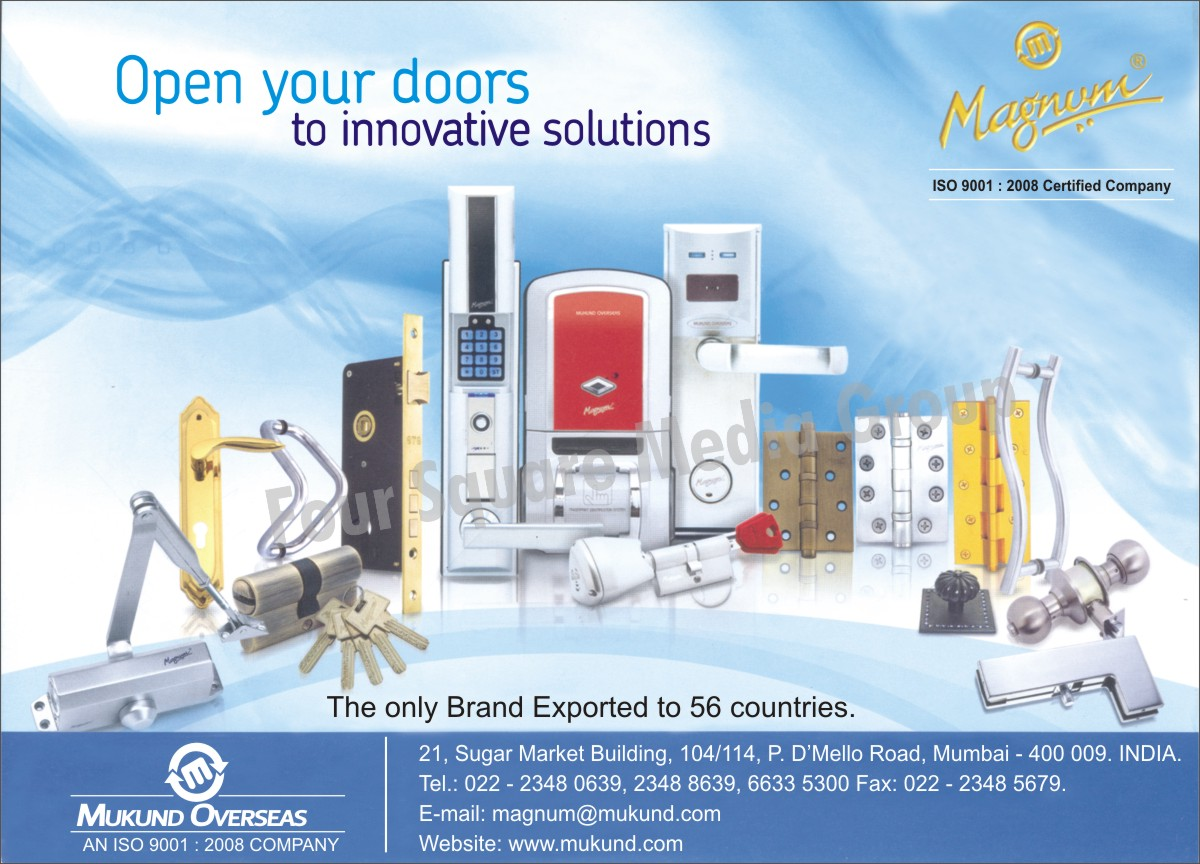 Hardware Door Handles, Hardware Door Hinges, Hardware Products, Digital Door Locks, Door Closers,