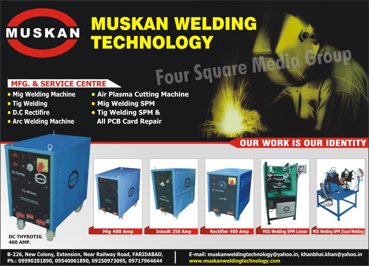 Mig Welding Machines | Tig Welding | DC Rectifiers | Arc Welding