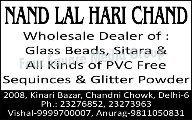 Glass Beads, Glass Sitara, PVC Free Sequinces, Glitter Powder