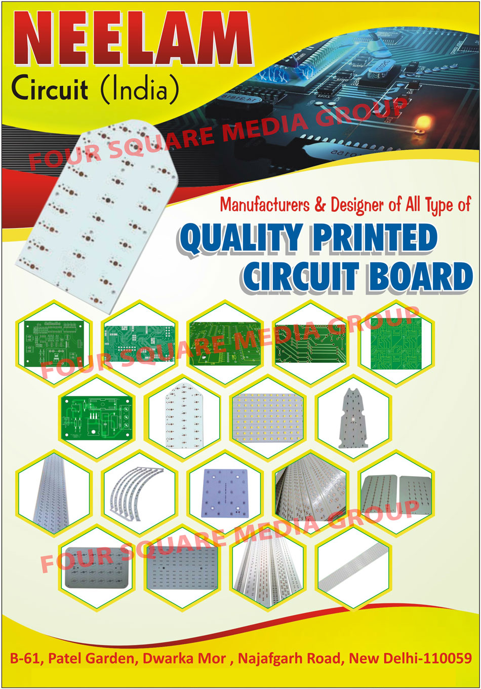Printed Circuit Boards Pcb Neelam India Manufacturers Board Send Enquiry