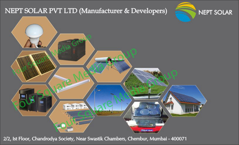 Solar Energy Power Developer, Solar Led Tube Lights, Solar Led Bulbs, Solar Lights, Solar Led Table Lights, Solar Led Street Lights, Solar Water Heaters, Solar Panels