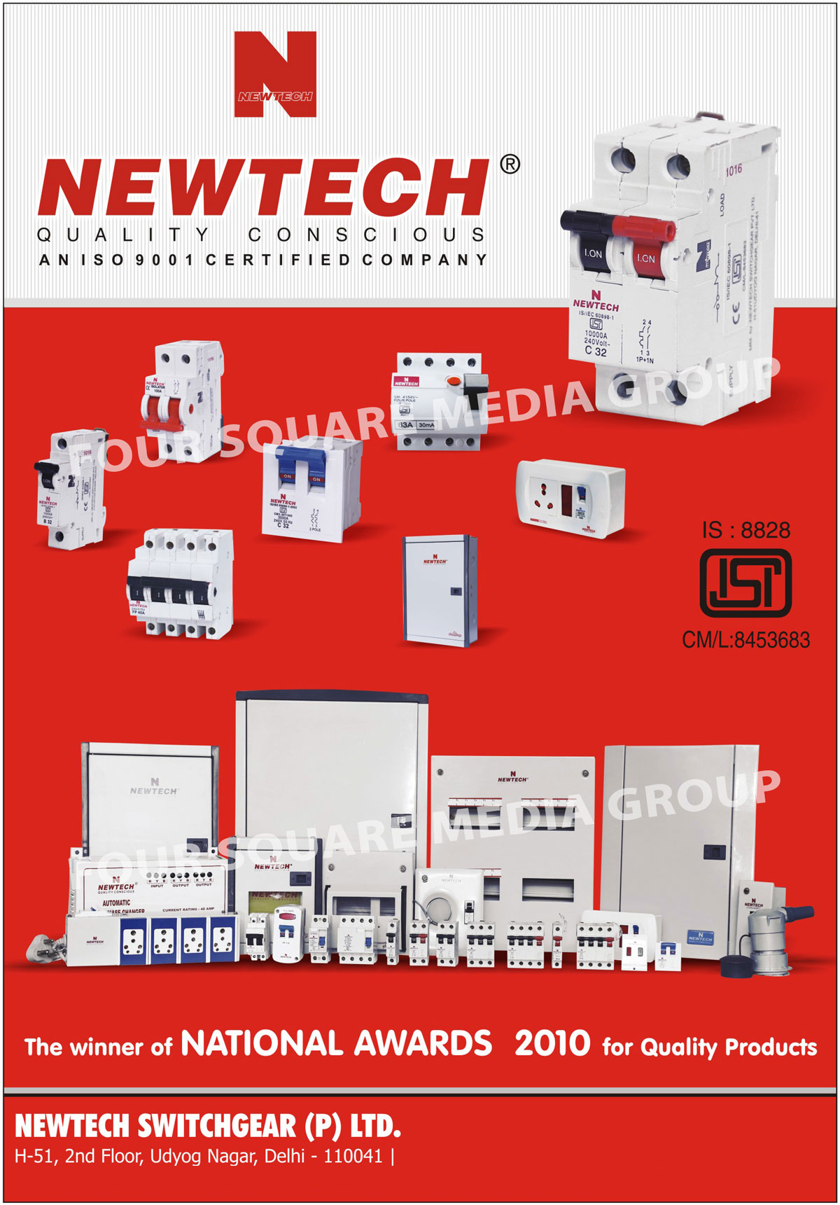 Electrical Mcb Mcb Isolators Rccb Newtech