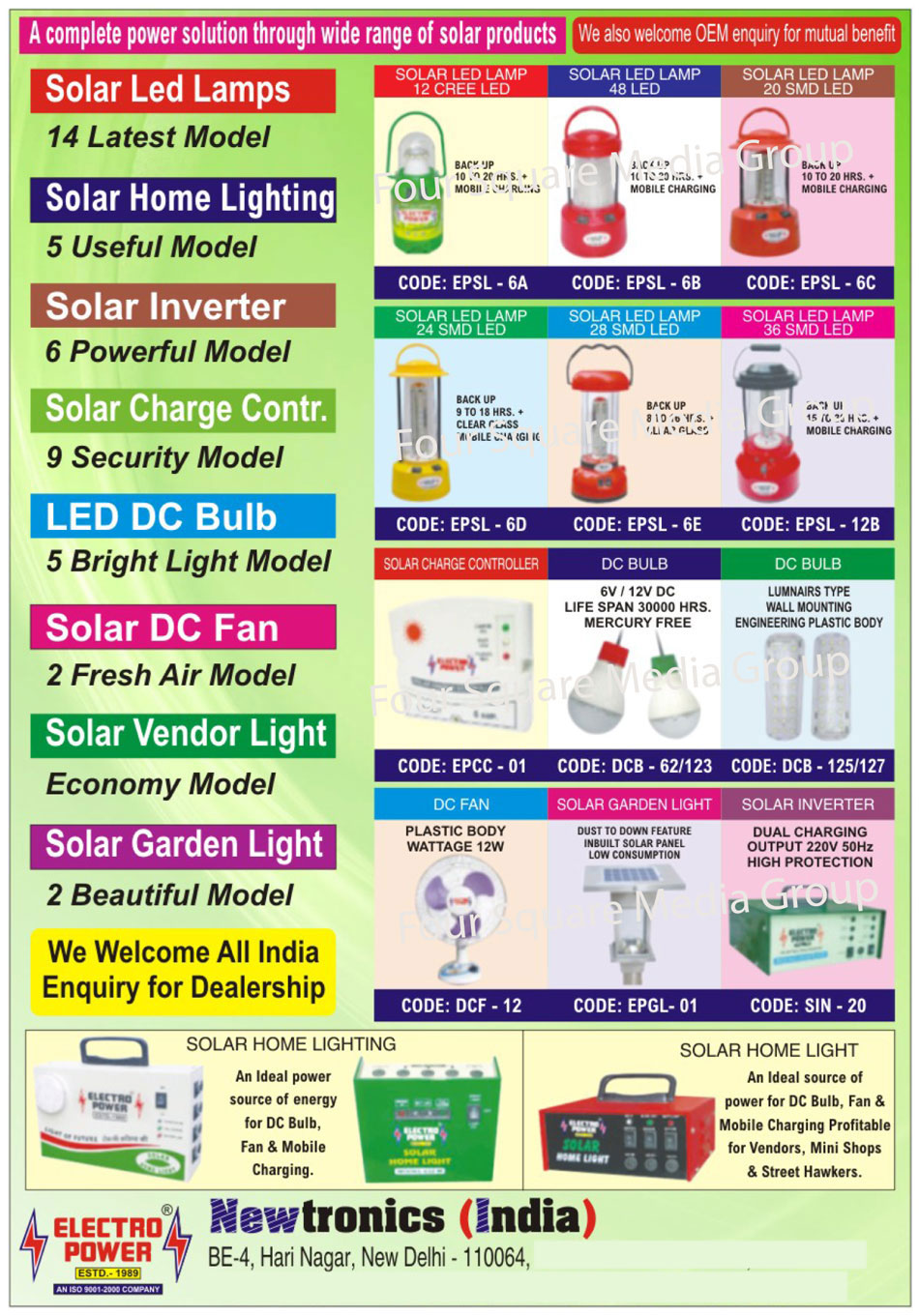 Solar Products, Solar LED Lamp, Solar Home Lights, Solar Hybrid Inverter, Solar Charge Controller, LED DC Bulb, Solar DC Fan, Solar Vendor Lights, Solar Garden Lights, Solar Inverters,Led Lamp, Home Lights, Charge Controller, Garden Light