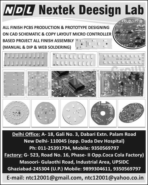 PCB, Printed Circuit Boards, PCB Prototype Designing Services, Printed Circuit Board Prototype Designing Services, Prototype PCB Designing Services, Prototype Printed Circuit Board Designing Services