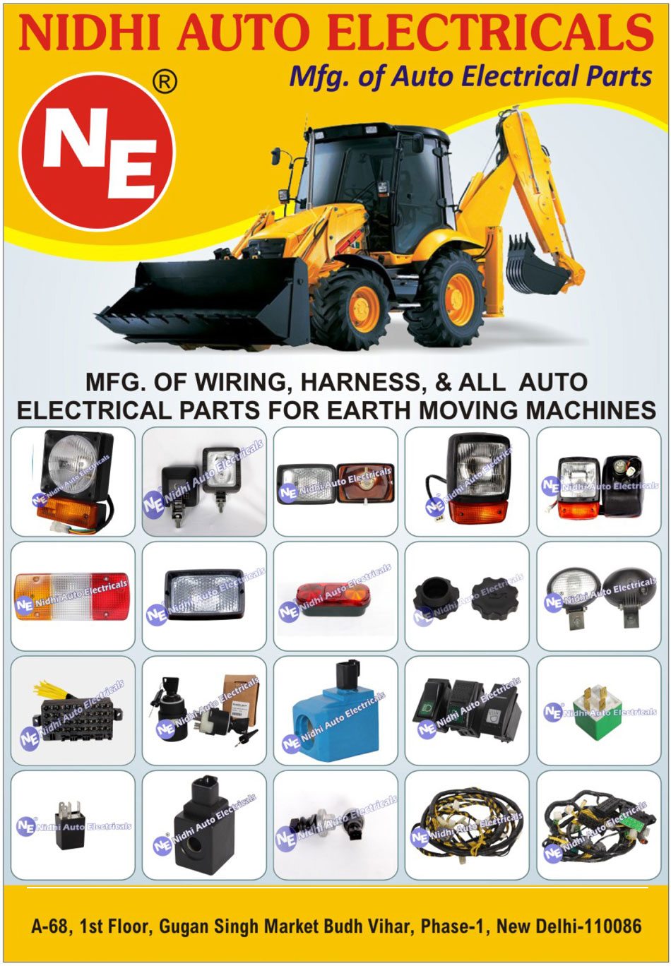 Earth Moving Machine Automotive Electrical Parts Distributor Wire Harness Wiring