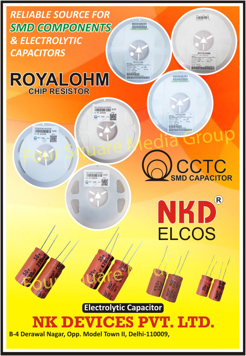 Capacitors,Electronic Components, Electrical Capacitors, Capxon Electrolytic Capacitors, DC Diodes, Diodes, MLCC Ceramic Capacitors, SMD Components, Electrolytic Capacitors, Chip Resistors, SMD Capacitors