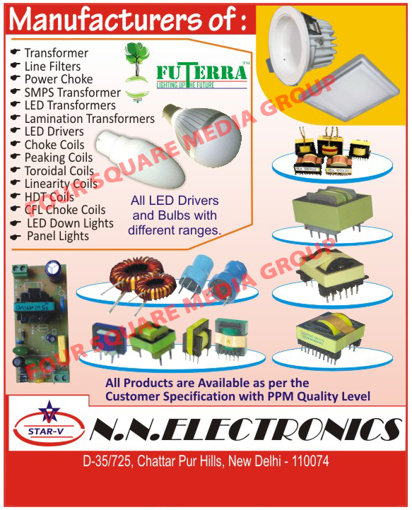 SMPS Transformer, Transformer, Line Filters, Power Choke, LED Transformers, Lamination Transformers, LED Drivers, Choke Coils, Coil, Peaking Coils, Toroidal Coils, Linearity Coils, HDT Coils, CFL Choke Coils, Panel Lights, Led Lights, LED Bulbs,  LED Down Lights, Led Tube Lights, Choke Power, Led Panel Lights, Lighting Consultancy Services, Home Decoration Lighting Consultancy Services, Office Lighting Consultancy Services, Drum Series Transformers, EDR Series Transformers, EE Series Transformers, PQ Series Transformers, EFD Series Transformers, RM Series Transformers