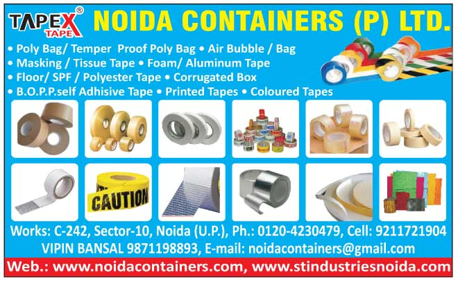 Poly Bags, Temper Proof Poly Bags, Air Bubbles, Air Bags, Masking Tapes, Tissue Tapes, Foam Tapes, Aluminium Tapes, Floor Tapes, SPF Tapes, Polyester Tapes, Corrugated Boxes, BOPP Self Adhesive Tapes, Printed Tapes, Coloured Tapes, Colored Tapes