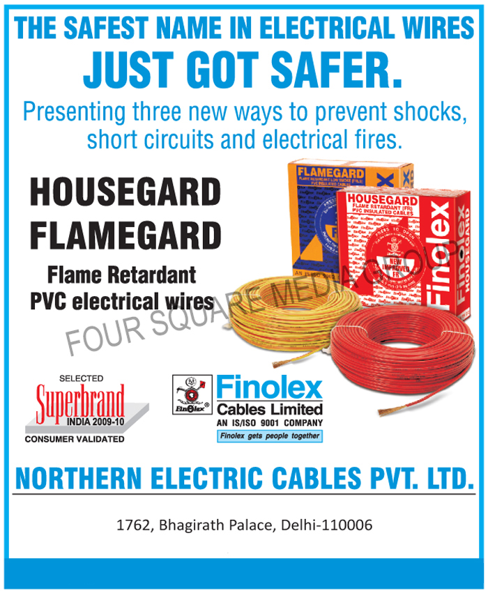 Flame Retardant PVC Electrical Wires