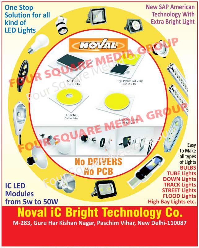 Led Lights, Led Bulbs, Led Tube Lights, Led Down Lights, Led Track Lights, Led Street Lights, Led Flood Lights, Led High Bay Lights, IC Modules, Led Chips, High Power Led Chips, Led Drivers