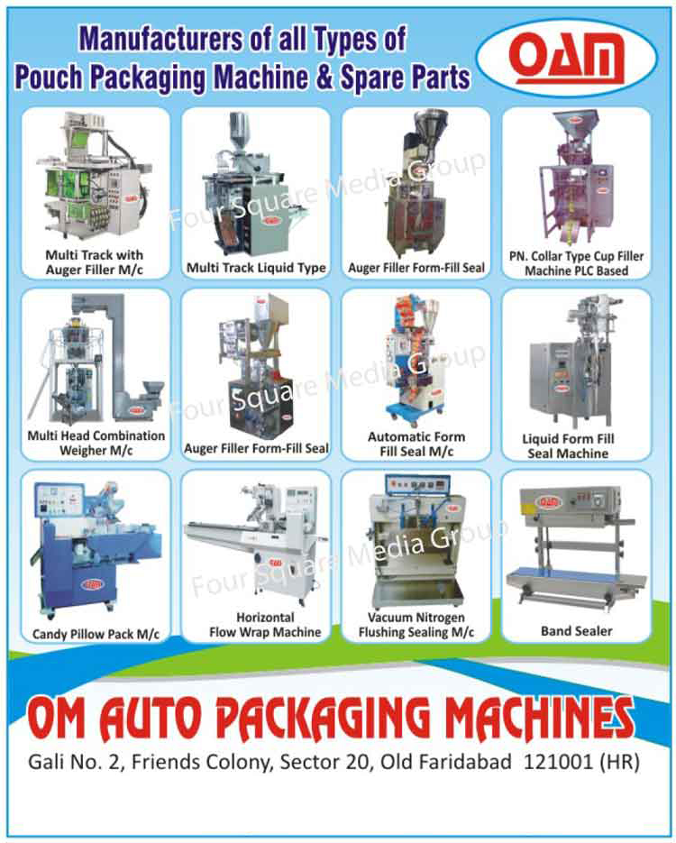 Pouch Packaging Machine, Pouch Packaging Machine Spare Part, Band Sealer, Vacuum Nitrogen Flushing Sealing Machine, Horizontal Flow Wrap Machine, Candy Pillow Pack Machine, Liquid Form Fill Seal Machine, Automatic Form Fill Seal Machine, Auger Filler Form Seal Machine, Multi Head Combination Weigher Machine, PLC Based PN Collar Type Cup Filler Machine, Multi Track Liquid Type Machine, Auger Filler Machine, Form Fill Seal Machine