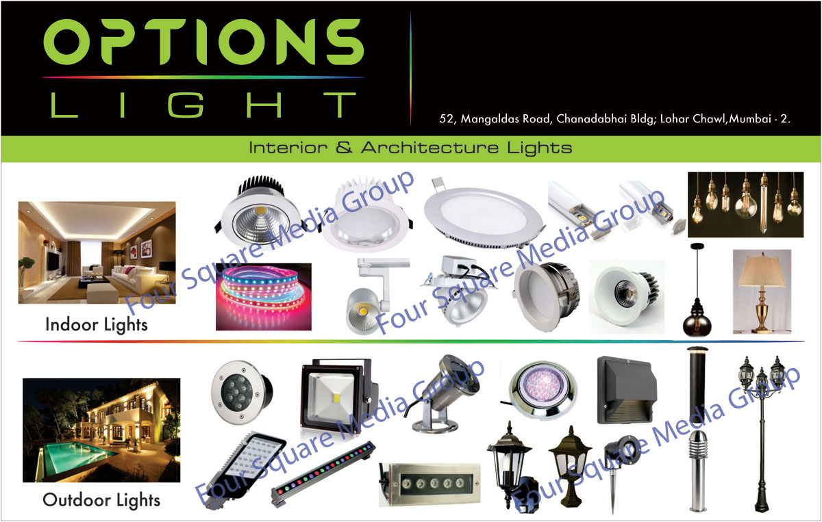 Interior Lights, Architecture Lights, Indoor Lights, Outdoor Lights, Led Lights