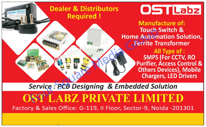 SMPS, Customised Touch Based Home Automation Systems, Customised Wifi Based Home Automation Systems, Customised Bluetooth Based Home Automation Systems, Access Control Systems, Customized Touch Based Home Automation Systems, Customized Wifi Based Home Automation Systems, Customized Bluetooth Based Home Automation Systems, Touch Switches, Home Automation Solutions, Ferrite Transformers, CCTV SMPS, RO Purifier SMPS, Access Control SMPS, Other Device SMPS, Mobile Chargers, Led Drivers, PCB Designing Services, Printed Circuit Board Designing Services, Embedded Solutions