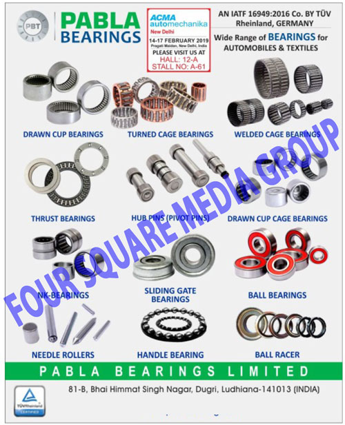 Two Wheeler Bearings, Three Wheeler Bearings, Four Wheeler Bearings, Textile Machine Bearings, General Machine Bearings, Two Wheeler Sheet Metal Components, Three Wheeler Sheet Metal Components, Four Wheeler Sheet Metal Components,Bearings, Sheet Metal Components, two Wheeler Bearings, Machine Bearings, Agriculture Machine Bearings