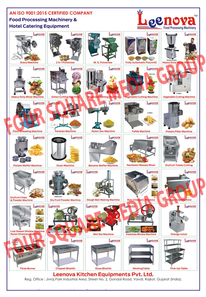 Grevy Machine, Gravy Machines, Pulveriser, Multi Purpose Pulverise, Domestic Flour Mil, Dryer Machin, Namkin Machines, Piller Machin, Potato Wafer Machin, Vegetable Cutting Machine, Dry Fruit Cutting Machine, Flour Kheading Machine, Mixer Machine, Tukda Machine, Chips Machines, Powder Machine, Wet Grinders, MS Pulveriser, Mixer Grinders, Chilly Cutters, Onion Cutting Machines, Vegetable Cutting Machines, Flour Mixing Machines, Atta Mixing Machines, Besan Mixing Machines, Farshan Machines, Potato Wafer Machines, Potato Piller Machines, Pizza Ovens, Dry Fruit Cutting Machines, Domestic Flour Mills, Banana Wafer Machines, Namkeen Masala Mixers, Potato Waffer Making Machine, Wafers Machines, Domestic Atta Chakki, Namkeen Machine, Peeler Machine, Peeling Machines, Hand Operated Dry Fruit Chips Machine, Flour Kneading Machine, Atta Kneading Machines, Live Steam Dhokla Machines, Heavy Duty Mixer Machine, Chips Machines, Powder Machine, Wet Grinders, Atta Mixing Machines, Farsan Machines, Namkeen  Machines, Potato Wafer Machines, Potato Chips Machines, Potato Peeler Machines, Potato Peeling Machines, Dryer Machines, Pizza Ovens, Dry Fruit Cutting Machines, Domestic Flour Mills, Banana Wafer Machines, Banana Chips Machines, Namkeen Masala Mixers, Induction Motors, Chilli Cutters, Potato Wafer Making Machine, Wafers Machines, Juicer Machines, Hand Operated Gathiya Machines, Finger Chips Machines, Hand Pressure Juicers, Deep Fryers, Sandwich Grillers, Kadukas Machines, Bhuka Machines, Chatani Machines, Two In One Multipurpose Pulverisers, Bar Be Que Grill, Dal Machines, Ladoo Crusher Machines, Mango Juice Machines, Pop Corn Machines, Tandoori Bhatthi, SS Three Sink Unit, Stainless Steel Three Sink Units, Gas Range, SS Bain Marie, Stainless Steel Bain Marie, Ice Crusher Machines, Catering Dish Sets