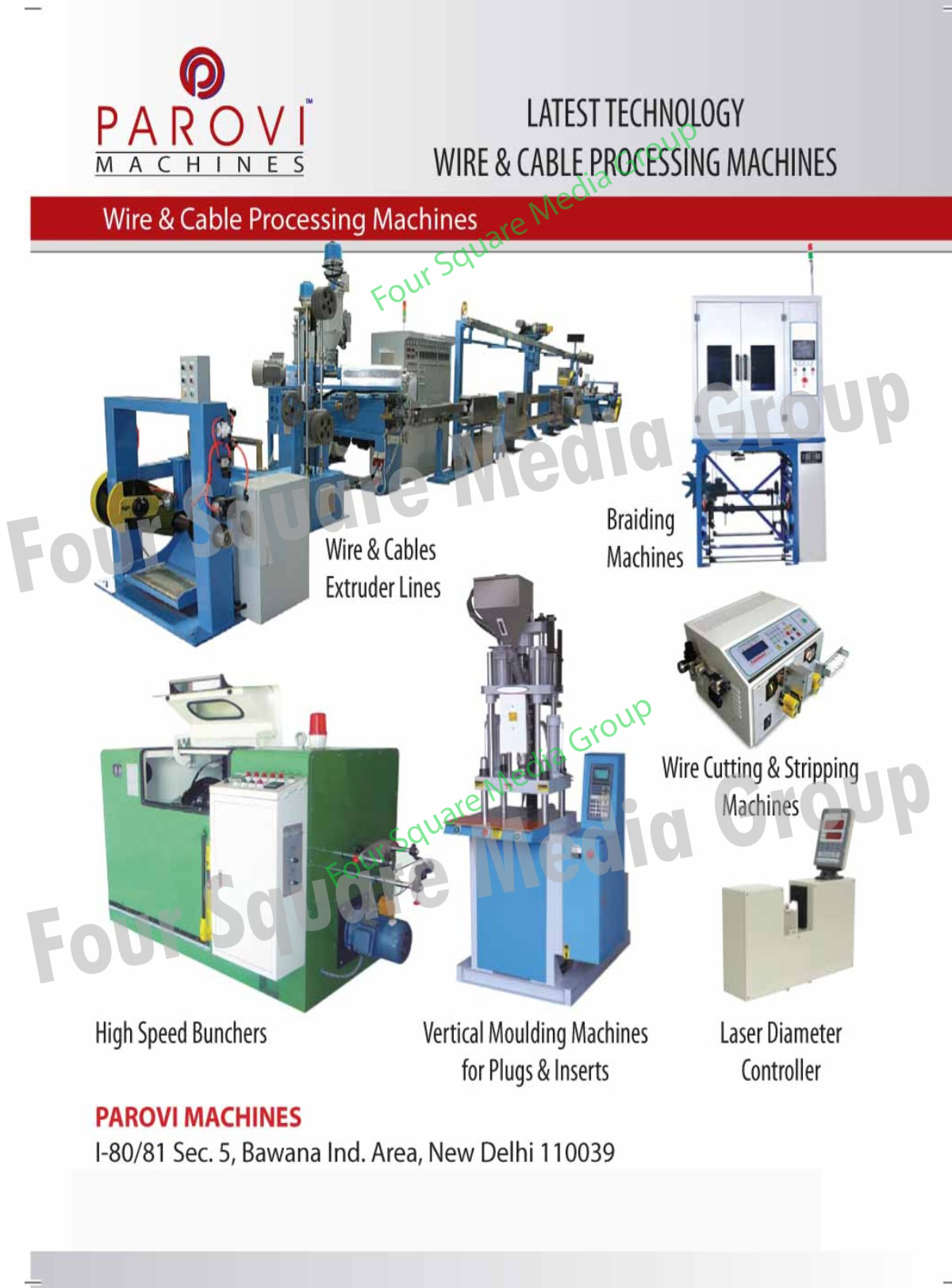 Wire Extruder Lines Cable Extruder Lines Braiding