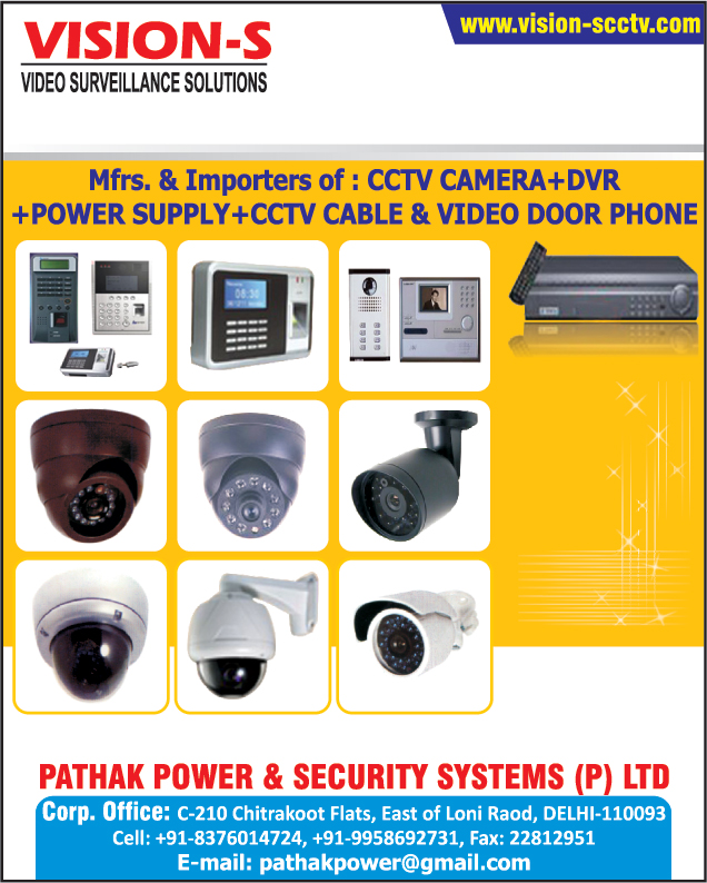 Cctv Camera, Dvr, Power Supply, Cctv Cable, Video Door Phones, Digital Video Recorder